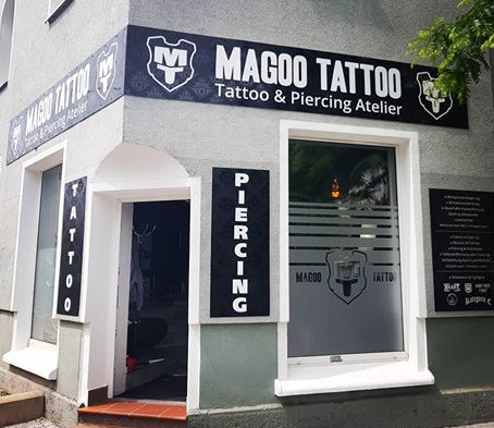 "Studio ""Magoo Tattoo"" in der Pergamentergasse 6 in Erfurt."